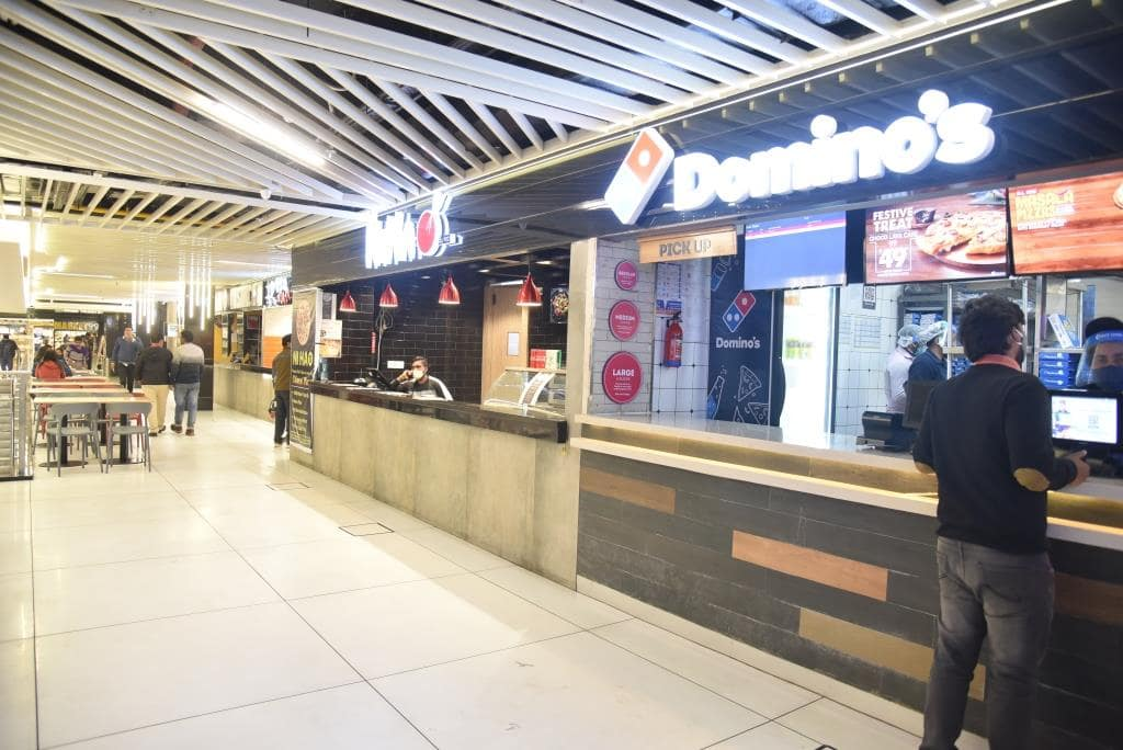 Food places in Orion mall, Gorakhpur