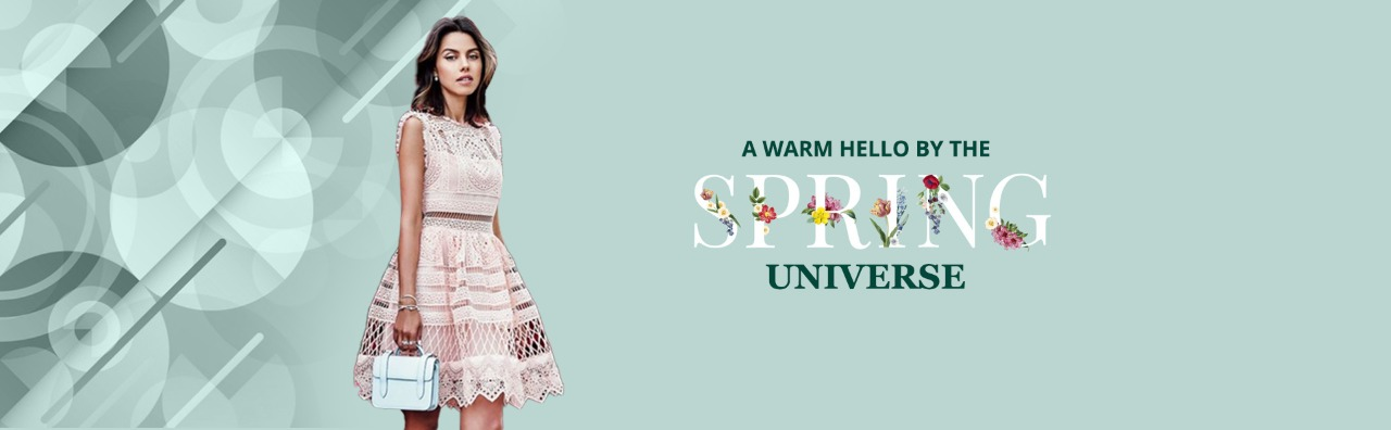 A Warm Hello By The Spring Universe