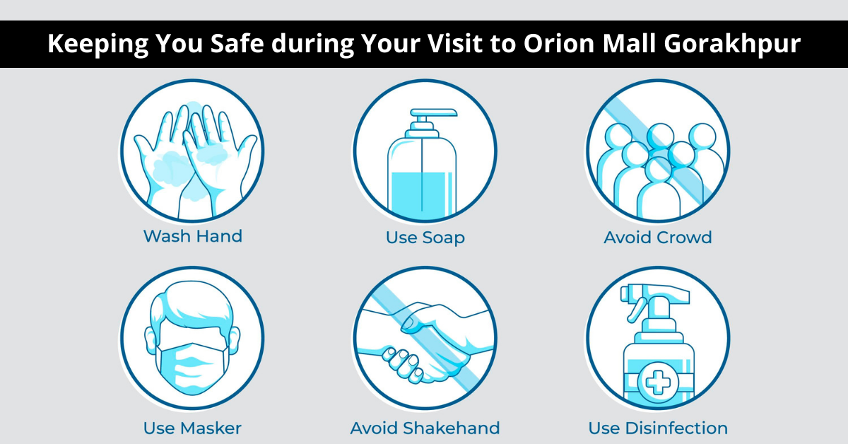Keeping You Safe during Your Visit to Orion Mall Gorakhpur